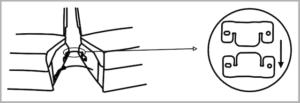 電動ソファーの垂直に差し込む連結タイプ