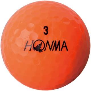 オレンジカラーのゴルフボール