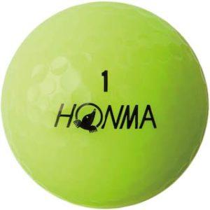 黄色(イエローカラー)のゴルフボール