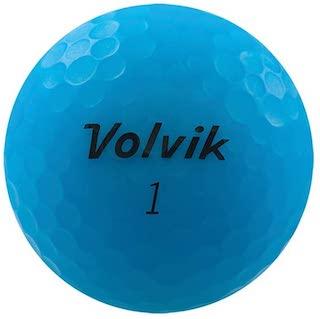青色(ブルーカラー)のゴルフボール