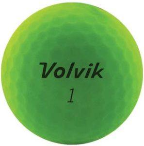 緑色(グリーンカラー)のゴルフボール