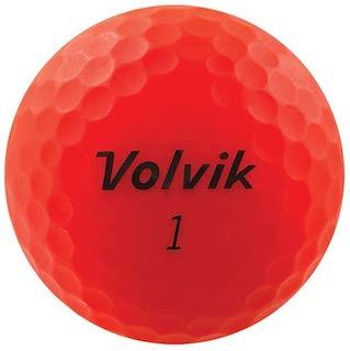 赤色(レッドカラー)のゴルフボール