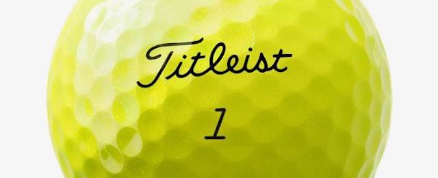 黄色・イエローのおすすめゴルフボール10選