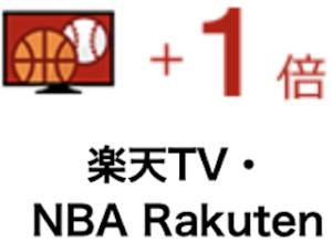 楽天TV【+1倍】