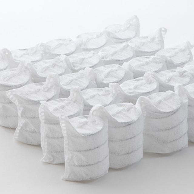 ソファベッドのポケットコイルのイメージ