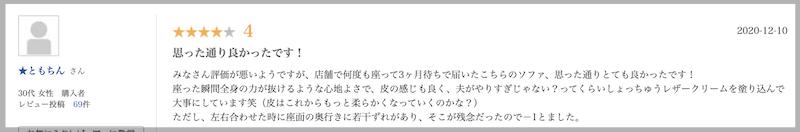 アネーロ 両電動 SK BR【ニトリ】の口コミレビュー